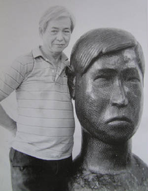 "There is something ""primitive"" about the work of the 77 year-old artist Mr Wee Kong Chai. Simple, clean-cut features, postures confined to original forms of ... - self-portrait.jpg.w300h387"